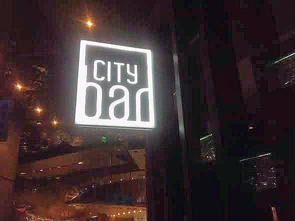 City Bar, a full-service bar and lounge at Aria.