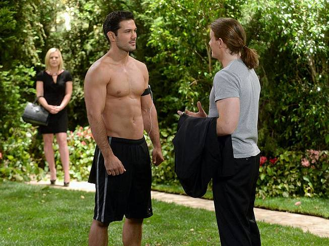 "Kirsten Storms (Maxie), Ryan Paevey (Nathan) and Zachary Garred (Levi) on ABC's ""General Hospital."""