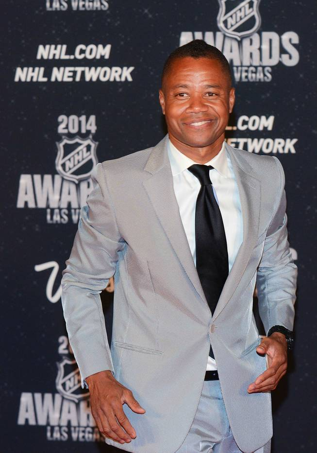 Actor Cuba Gooding Jr. at the 2014 NHL Awards in Encore Theater on Tuesday, June 24, 2014, at Wynn Las Vegas.