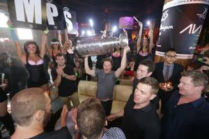 L.A. Kings and Stanley Cup at XS