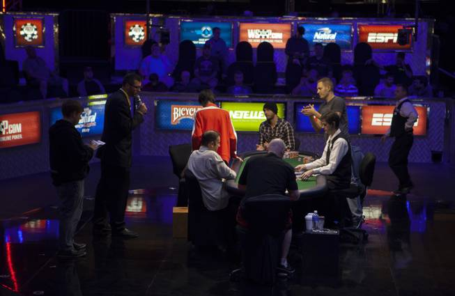 WSOP player Chun Lei Shou is next to be eliminated during the Poker Players Championship final table of professional poker players facing off for a $50,000 buy-in at the Rio on Thursday, June 26, 2014.