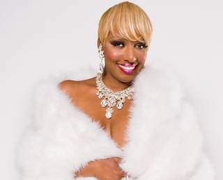 "NeNe Leakes in Cirque du Soleil's ""Zumanity"" at New York-New York."