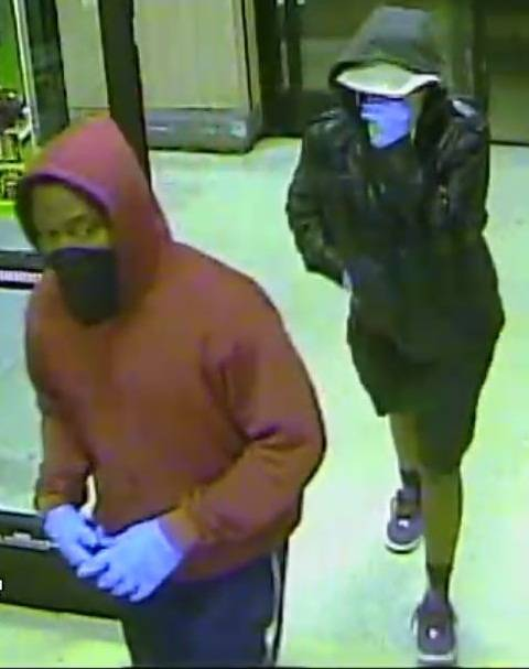 Metro Police released a photo of two suspects in the robbery of a business near Buffalo and Vegas drives on Wednesday, June 25, 2014.</p>