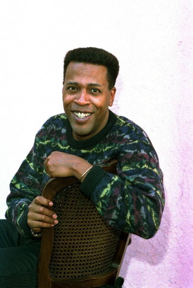 "In this Jan. 30, 1989, file photo, actor Meshach Taylor poses during an interview in Los Angeles. Taylor's agent says the actor, who appeared in the hit sitcoms ""Designing Women"" and ""Dave's World"" died of cancer on Saturday, June 28, 2014, at his home in Los Angeles. He was 67."