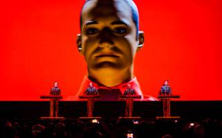 Kraftwerk at the Chelsea on Saturday, June 28, 2014, in the Cosmopolitan of Las Vegas.