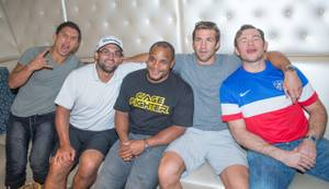 UFC Stars Host 2014 World Cup Party