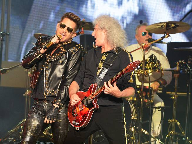 Queen + Adam Lambert at the Joint