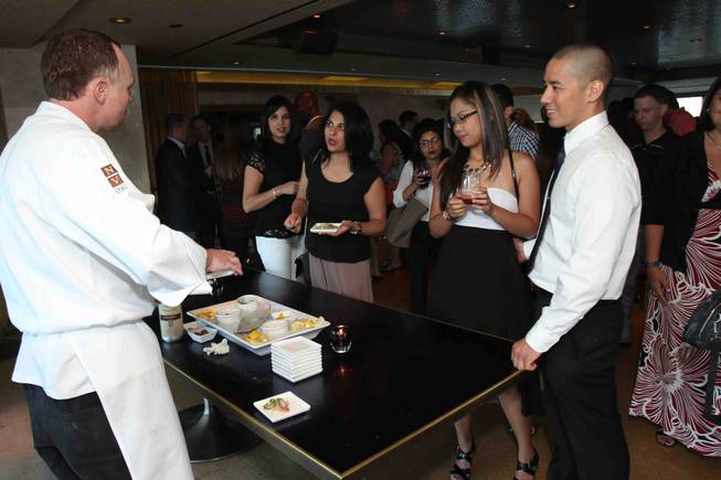 Chef Kieran Toivonen of Nove Italiano at the Palms hosts ...