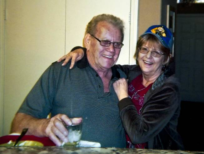 Photo of Robert and Linda Rolain together in happier times before her illness took her life on Wednesday, June 25, 2014.