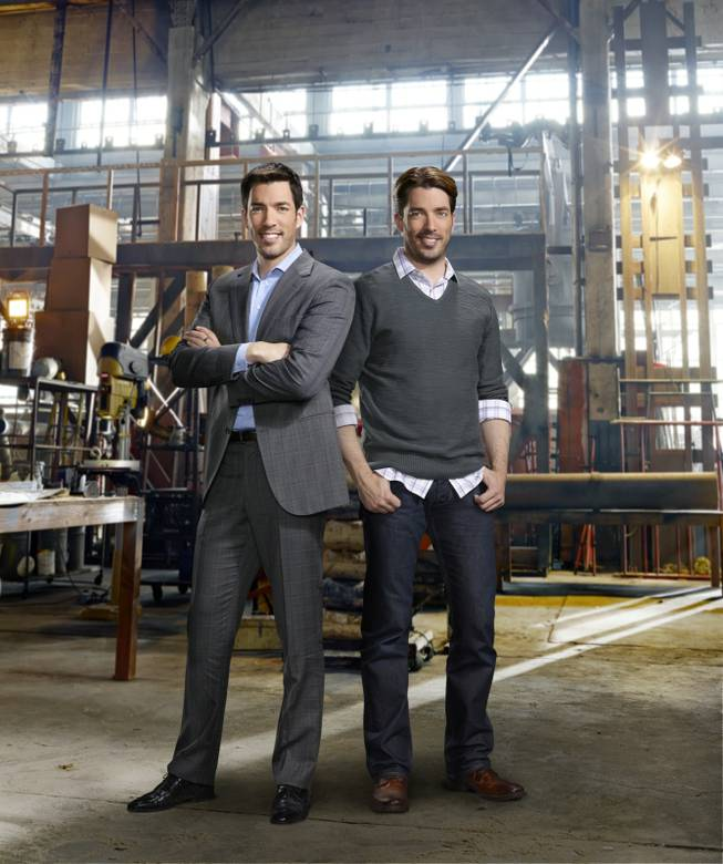 "Interior designer Melissa Roche of Las Vegas competes in Season 2 of ""Brother vs. Brother"" on HGTV. Roche was crowned the champion on the finale Sunday, July 13, 2014. Twin brothers Drew and Jonathan Scott are pictured here."