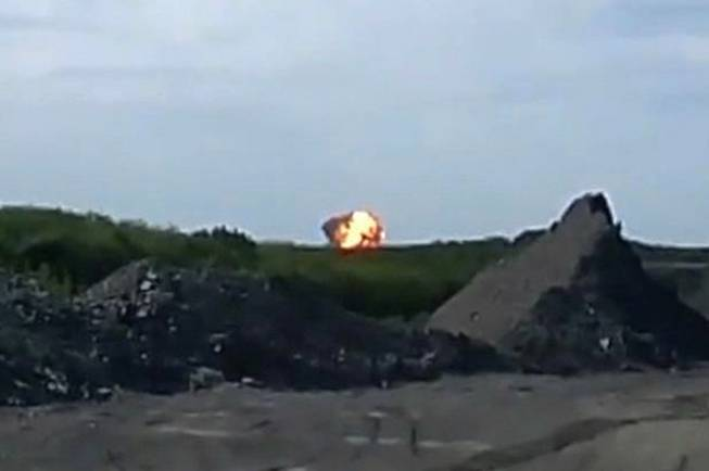This image was taken from amateur video, Thursday July 17, 2014, a fireball is seen shortly after a Malaysia Airlines passenger plane carrying 295 people was shot down Thursday as it flew over Ukraine, and plumes of black smoke rose up from the scene near the rebel-held village of Grabovo, in eastern Ukraine. Malaysia Airlines has tweeted that it lost contact with one of its flights as it was traveling from Amsterdam to Kuala Lumpur over Ukrainian airspace.