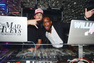 Brody Jenner, with DJ William Lifestyle, makes his DJ debut Friday, July 18, 2014, at Hyde Bellagio.