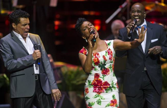 "Singers Clint Holmes, Nnenna Freelon and a Take 6 member perform as The Venetian Las Vegas announces the engagement of ""Georgia On My Mind: The Music of Ray Charles"" with a special performance on Tuesday, July 22, 2014."