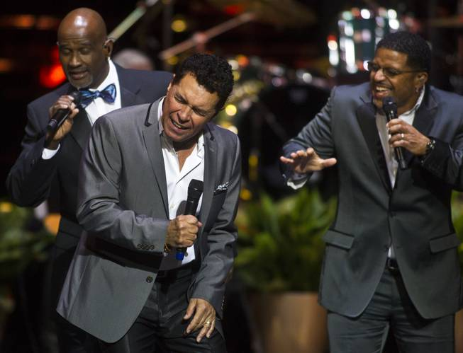 "Singers Clint Holmes and Take 6 members perform as The Venetian Las Vegas announces the engagement of ""Georgia On My Mind: The Music of Ray Charles"" with a special performance on Tuesday, July 22, 2014."