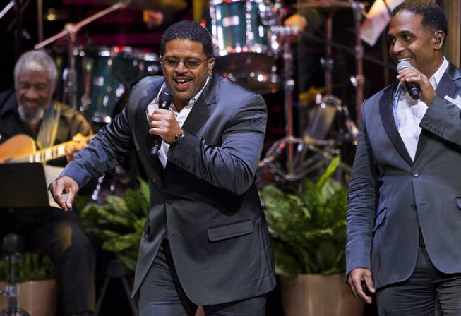 "Singers with Take 6 perform as The Venetian Las Vegas announces the engagement of ""Georgia On My Mind: The Music of Ray Charles"" with a special performance on Tuesday, July 22, 2014."