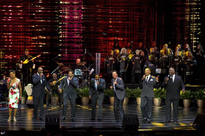 "The Venetian Las Vegas announces the engagement of ""Georgia On My Mind: The Music of Ray Charles"" with a special performance by 10-time Grammy winners Take 6, Clint Holmes and Nnenna Freelon on Tuesday, July 22, 2014."