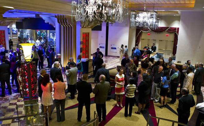 "Attendees gather as The Venetian Las Vegas announce the engagement of ""Georgia On My Mind: The Music of Ray Charles"" with a special performance by 10-time Grammy winners Take 6, Clint Holmes and Nnenna Freelon on Tuesday, July 22, 2014."