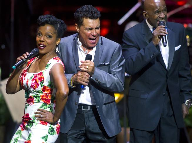 "Singers Nnenna Freelon, Clint Holmes and a Take 6 member perform as The Venetian Las Vegas announces the engagement of ""Georgia On My Mind: The Music of Ray Charles"" with a special performance on Tuesday, July 22, 2014."