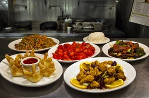 Sweet and sour pork, orange chicken and pork fried rice are among the favorite dishes on Café Fiesta's Chinese menu.