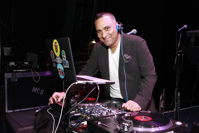 Comedian Russell Peters performs at the We Are Family Honors Sting & Trudie Styler concert at the Manhattan Center Grand Ballroom on Thursday, April 11, 2013 in New York.