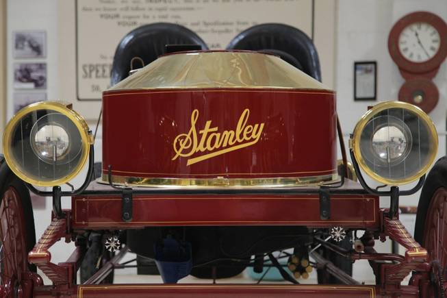 Jay Leno's Stanley Steamer was probably the oldest car to be pulled over by the California Highway Patrol on the 405 freeway.