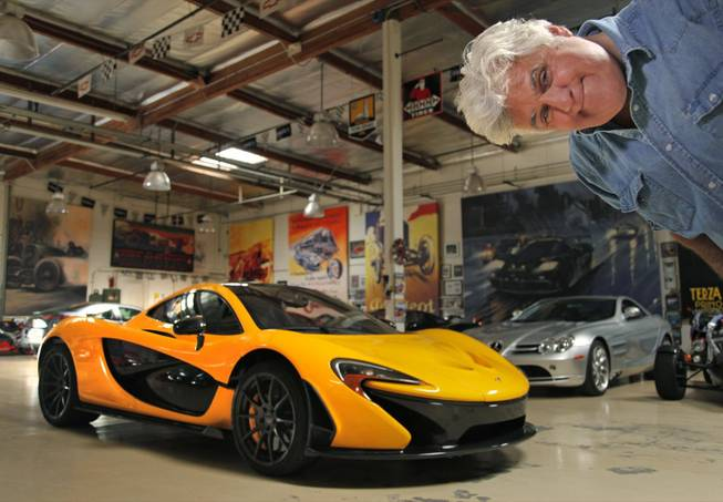 Jay Leno has added a McLaren P1 to his collection of cars. The exotic sports car is considered by many critics to be the best sports car ever made, with a cost of $1.2 million.
