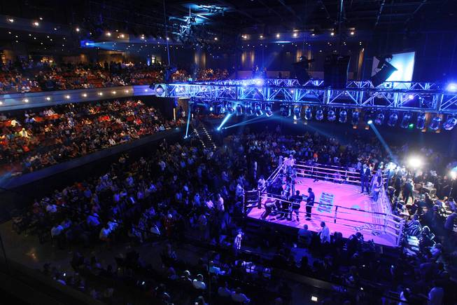 The Chelsea is the scene for the Diego Chaves vs. Brandon Rios welterweight fight Saturday, Aug. 2, 2014 at the Cosmopolitan.