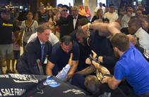 Fight Breaks Out at UFC News Conference