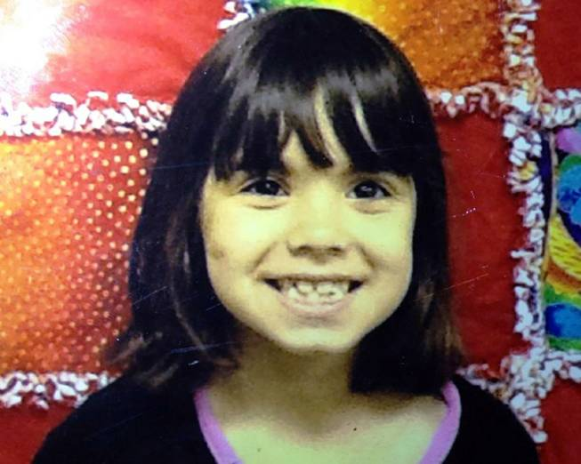 This undated photo provided by the Kitsap County Sheriff's Office shows Jenise Paulette Wright. Kitsap County sheriff's deputies are searching for Jenise, 6, who is missing and was last seen Saturday, Aug. 2, 2014, at her home in East Bremerton, Wash.