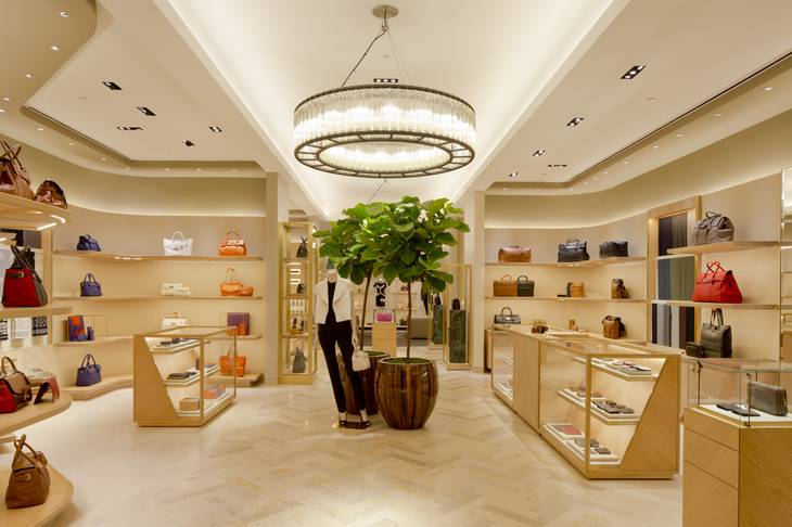 Mulberry at The Forum Shops at Caesars Palace.