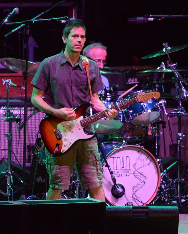 Frontman and guitarist Glen Phillips and his band Toad the Wet Sprocket at Mandalay Beach Beach on Sunday, Aug. 10, 2014, in Las Vegas.