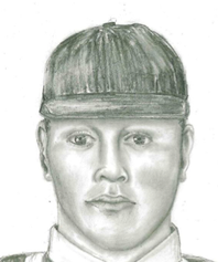 Metro Police released this sketch of a man they say is responsible for several robberies in April and May 2014 in parking lots around Maryland Parkway and Flamingo Road.