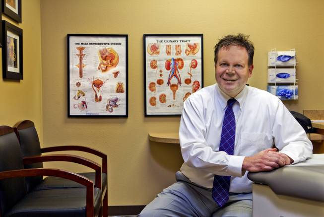 Dr. Mark Leo is a urologist in Las Vegas on Wednesday, August 6, 2014.