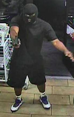 Metro police has identified this man as the suspect in several armed robberies around Las Vegas.