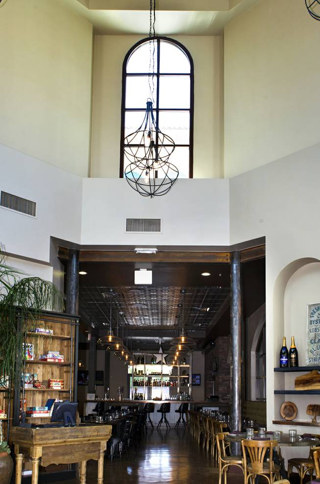 Interior entry way of Made L.V. which is a new restaurant opening tonight at Tivoli Village on Monday, August 18, 2014.