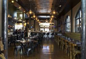 The expansive new interior at Made L.V., which opened August 18 at Tivoli Village.