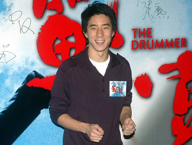 "In this Oct. 8, 2007, file photo, Hong Kong actor Jaycee Chan arrives at ""The Drummer"" premiere at Hong Kong Convention Center. Hong Kong action superstar Jackie Chan's son Jaycee Chan has been detained in Beijing on drug-related charges."