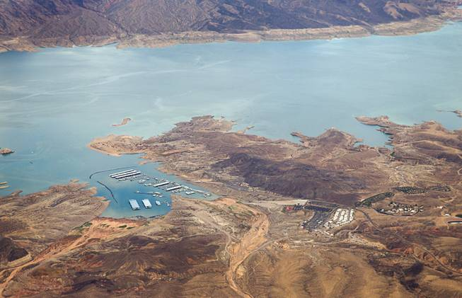 Aerial Photos Over Lake Mead