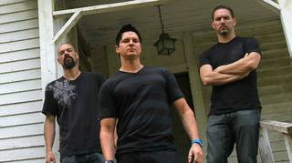 """Ghost Adventures"" with Aaron Goodwin, Zak Bagans and Nick Groff on Travel Channel."