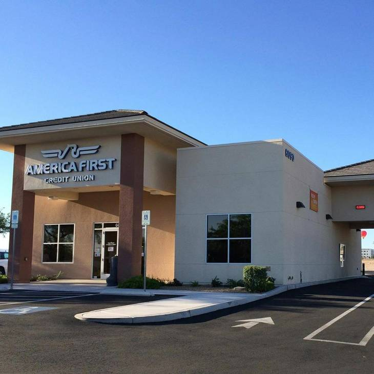 America First Credit Union at 6090 S. Durango Drive, Las Vegas.