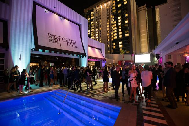The grand opening of SLS Las Vegas on Friday, Aug. 22, 2014, on the Strip.