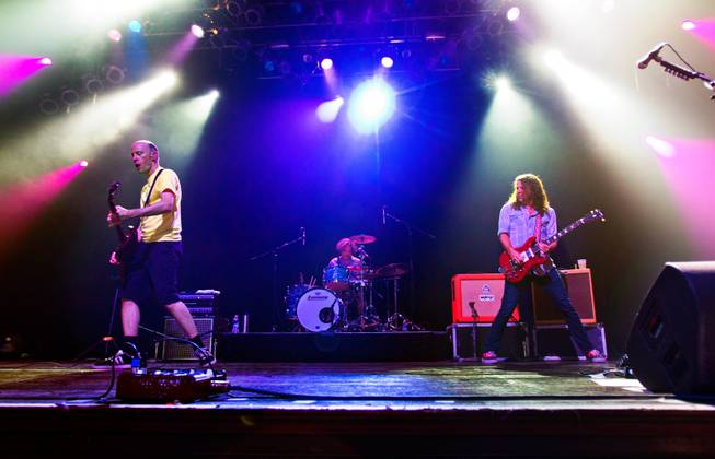 The Presidents of the United States of America perform at the House of Blues in the Mandalay Bay on Saturday, August 23, 2014.