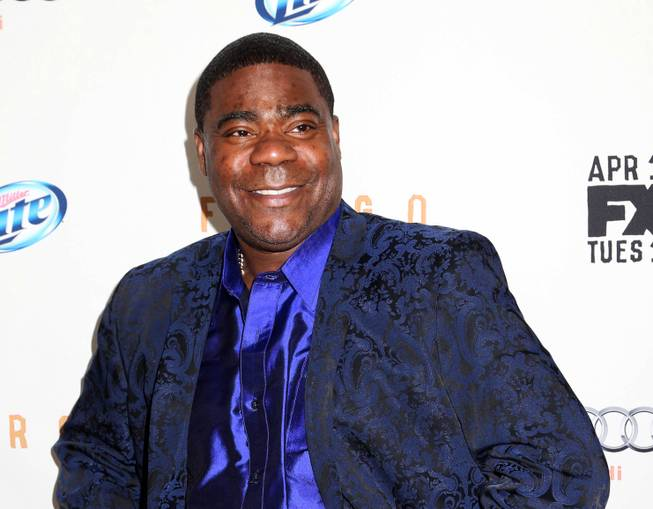 "In this April 9, 2014, photo, actor Tracy Morgan attends the FX Networks Upfront premiere screening of ""Fargo"" at the SVA Theater in New York. Wal-Mart has denied claims by lawyers for actor-comedian Morgan that the company is stalling a federal lawsuit over a fatal highway crash in New Jersey last summer."