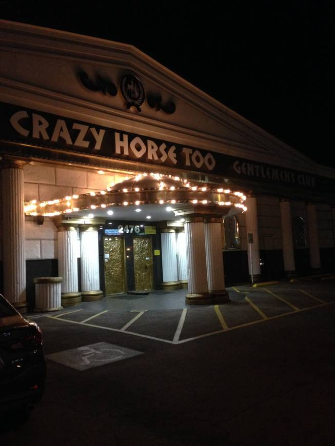 The shuttered Crazy Horse Too gentlemen's club on Industrial Road, as seen Thursday, Aug. 28, 2014.