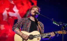 Ed Sheeran performs at The Chelsea on Friday, Aug. 29, 2014, in The Cosmopolitan of Las Vegas.