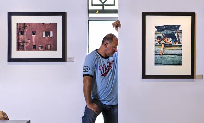 "Armand Thomas has his photography on exhibit at The Window Gallery in a show entitled ""Window On The World,"" on Tuesday, September 2, 2014. He is also an employee with Cirque du Soleil and traveled the world shooting different cities."