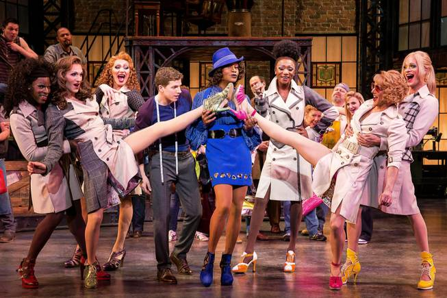 "The Tony Award-winning ""Kinky Boots"" is at The Smith Center for the Performing Arts from Sept. 4-14, 2014, in downtown Las Vegas."