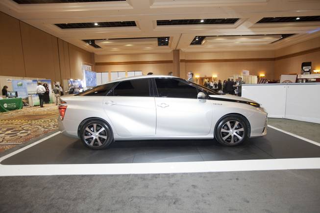 FCV by Toyota on display at the National Clean Energy Summit 7.0: Partnership & Progress on Thursday, September 4th at Mandalay Bay Resort & Casino in Las Vegas.