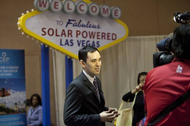 Mike Litt, Field Director for Clean Energy Project, at the National Clean Energy Summit 7.0: Partnership & Progress on Thursday, September 4th at Mandalay Bay Resort & Casino in Las Vegas.