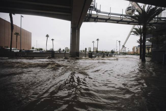 Flooding_at_the_LINQ
